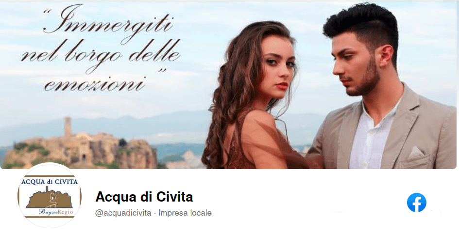 Acqua di Civita Facebook